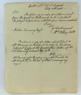 1804 William Ellery Declaration Of Independence Newport