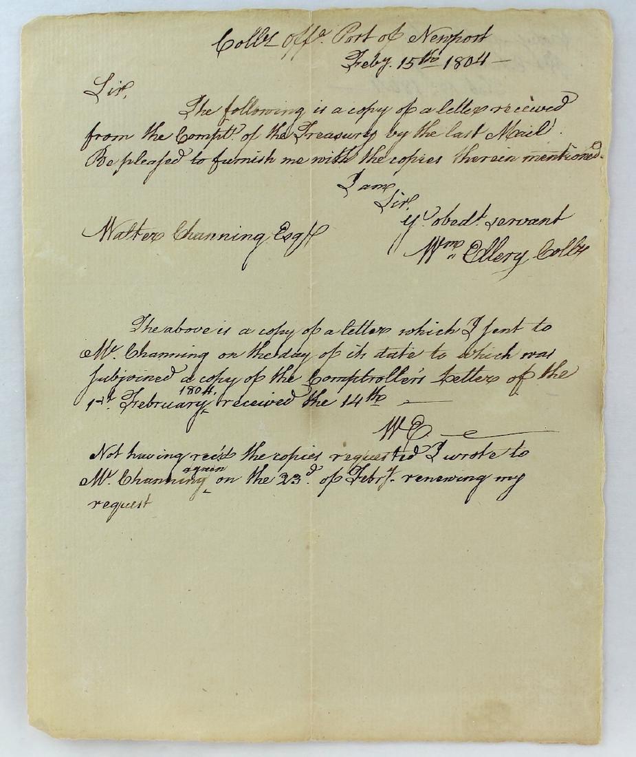 1804 William Ellery Declaration Of Independence Newport - 2