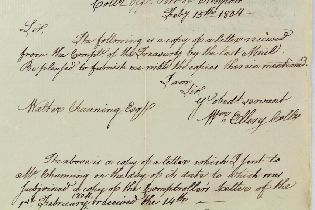 1804 William Ellery Declaration Of Independence Newport - 3