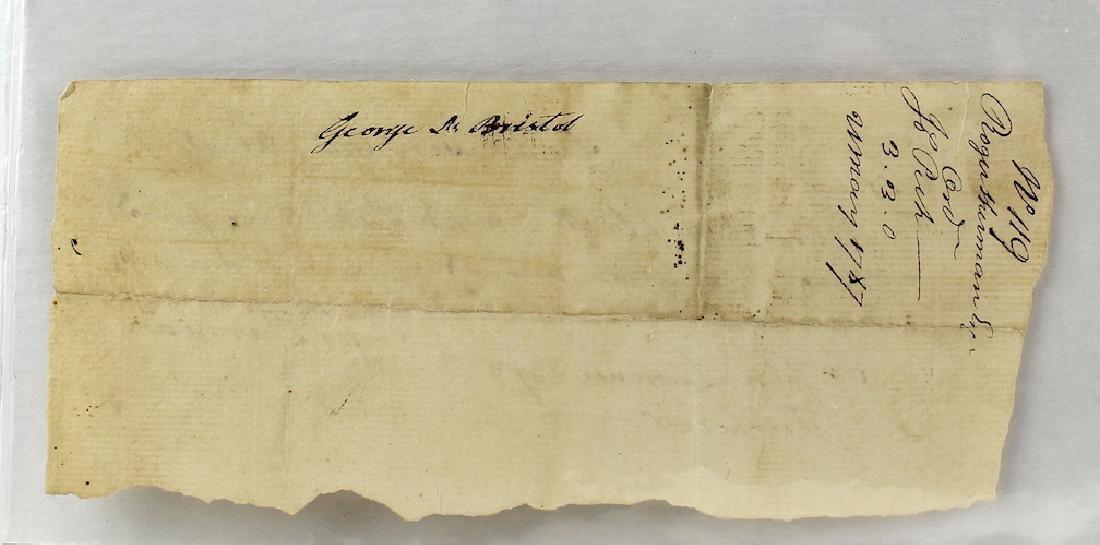 1787 Roger Sherman Declaration Of Independence Signer - 2