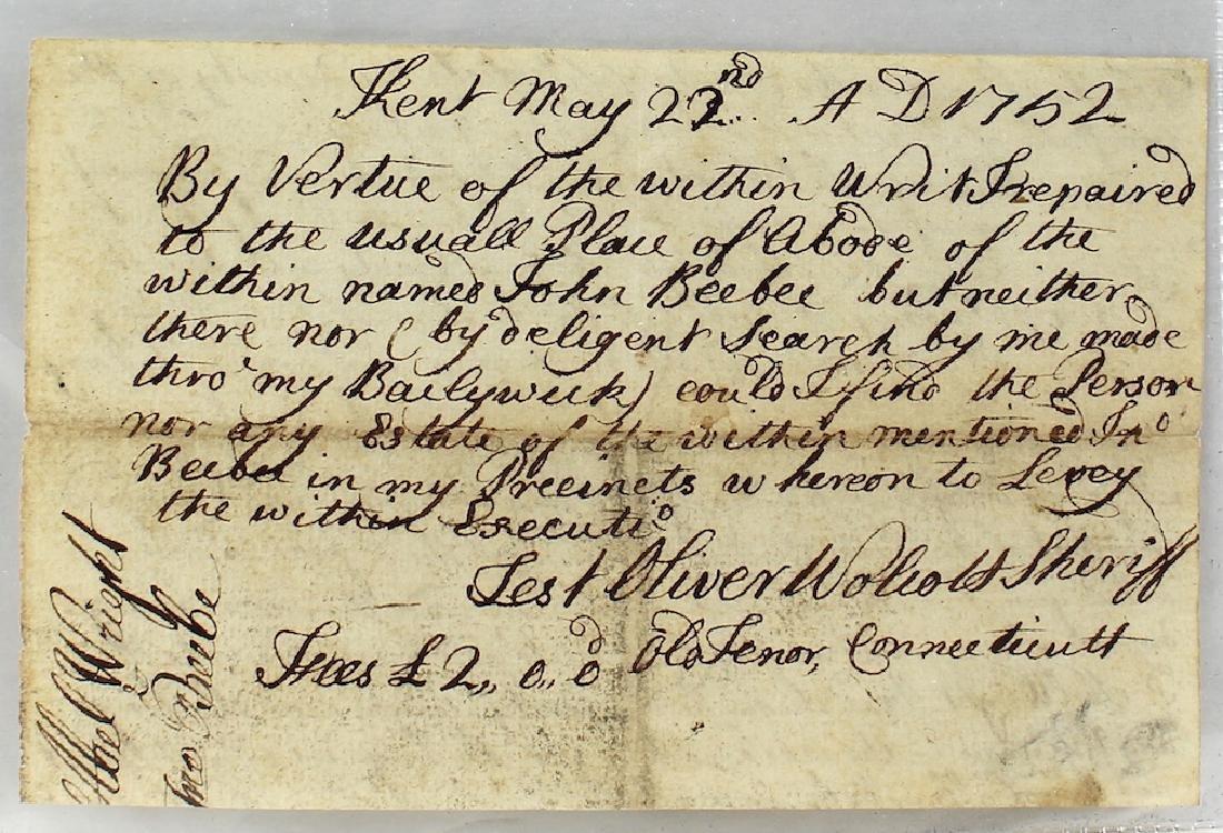 Oliver Wolcott Declaration Of Independence Signer - 2