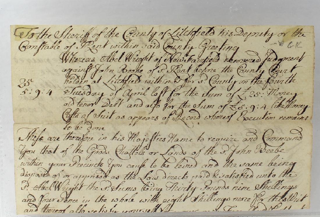 Oliver Wolcott Declaration Of Independence Signer - 3