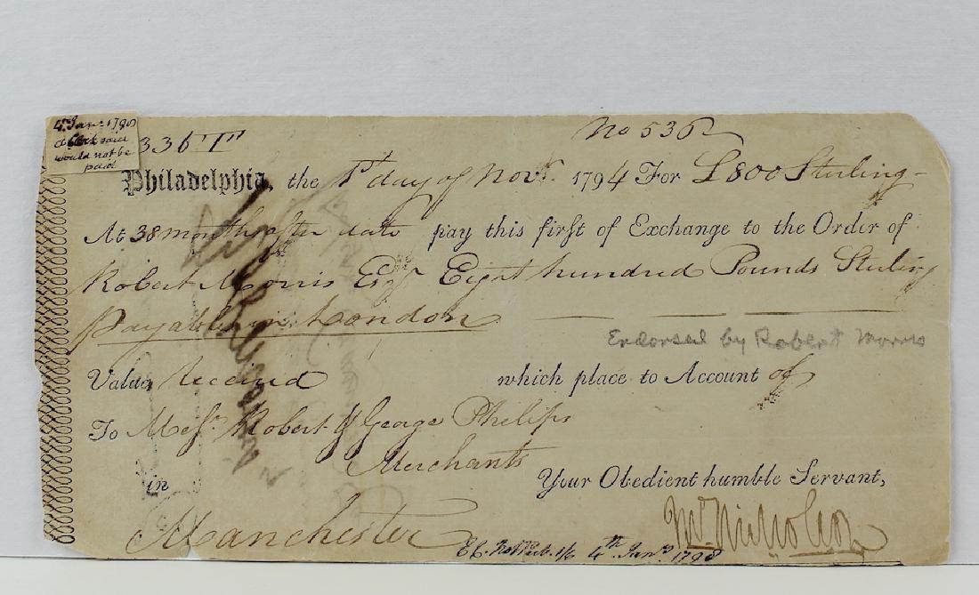 Robert Morris Declaration Of Independence Signer - 3
