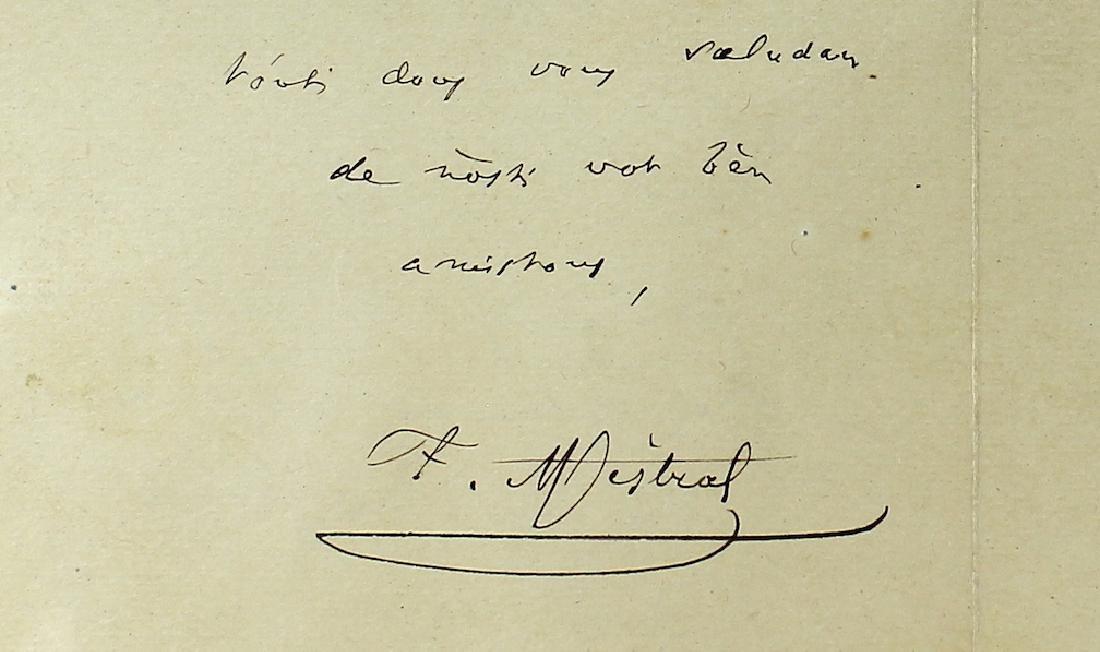 1901 Frederic Mistral French Poet Nobel Prize