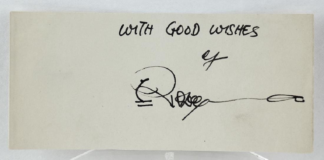 Ripley's Believe it or Not! Robert Ripley Signature