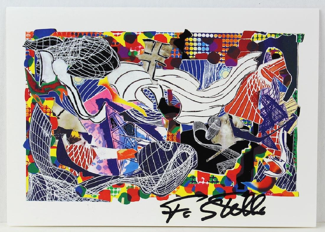Frank Stella Signed Artist Litho
