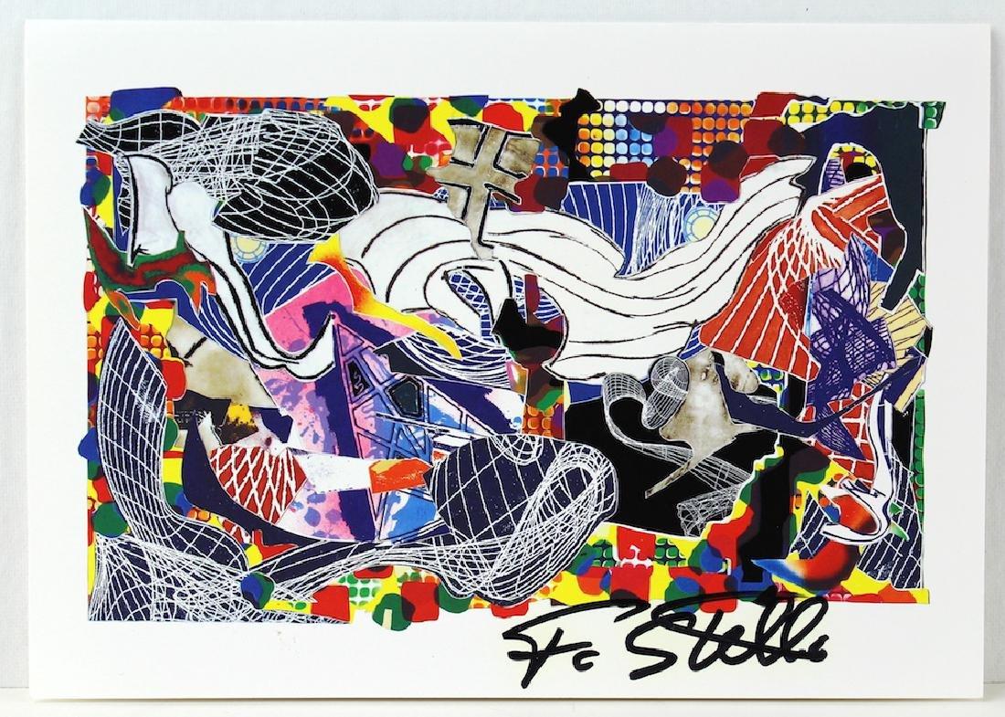 Frank Stella Signed Artist Litho - 2