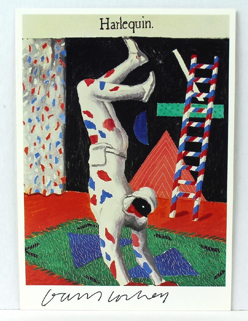 David Hockney Signed Artist Litho - 2