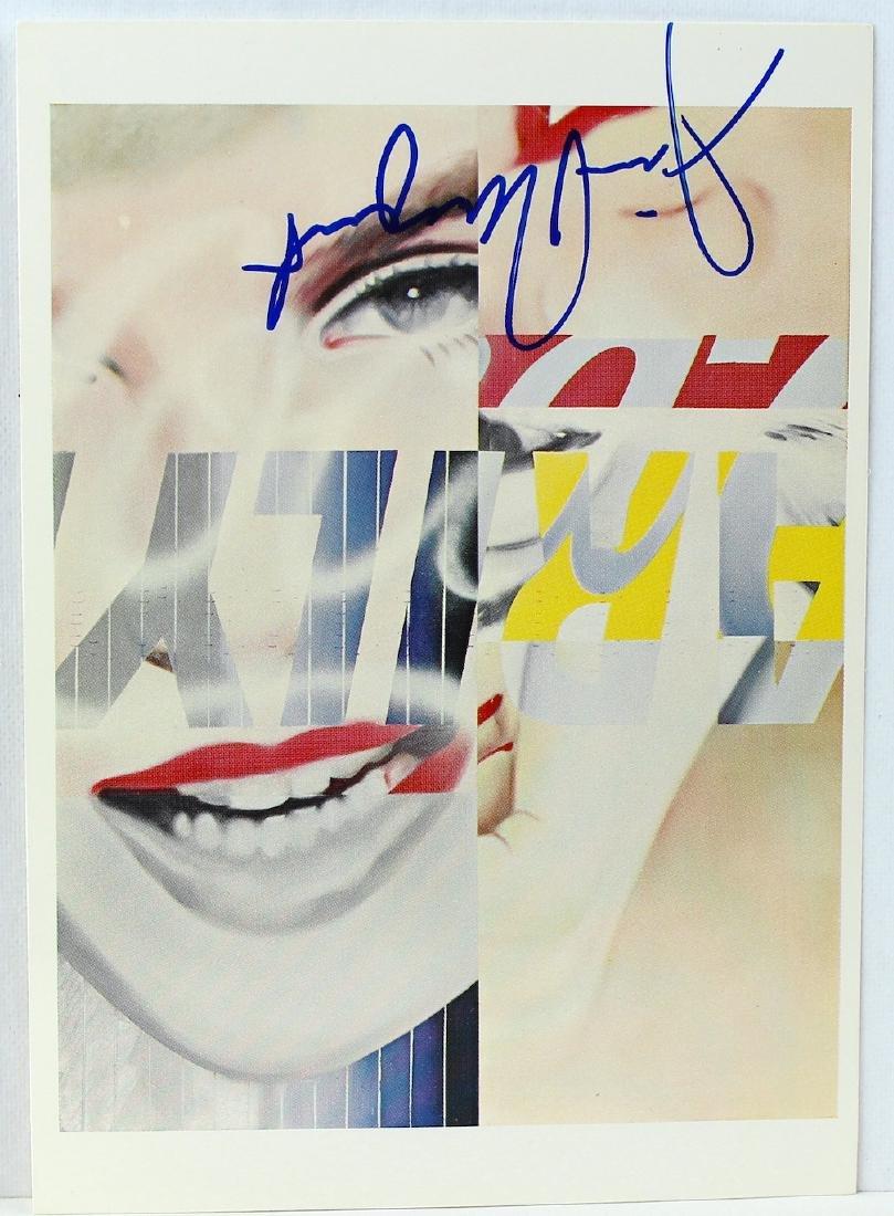 James Rosenquist Signed Artist Litho Marilyn - 2