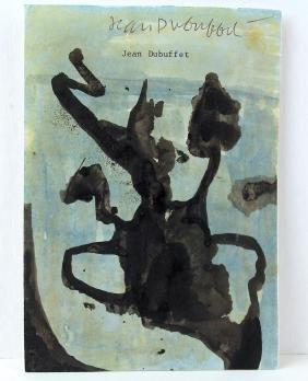 Jean DuBuffet Original Art Signed