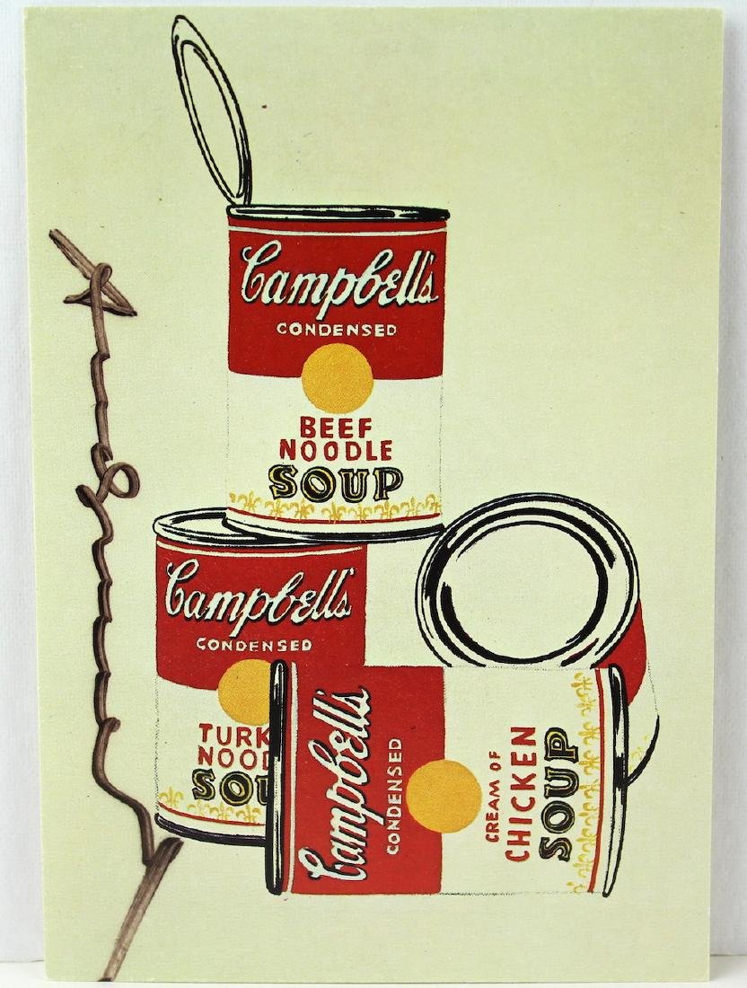 Andy Warhol Artist Signed Litho