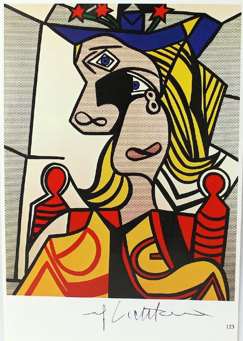 Roy Lichtenstein Homage to Picasso Signed Print