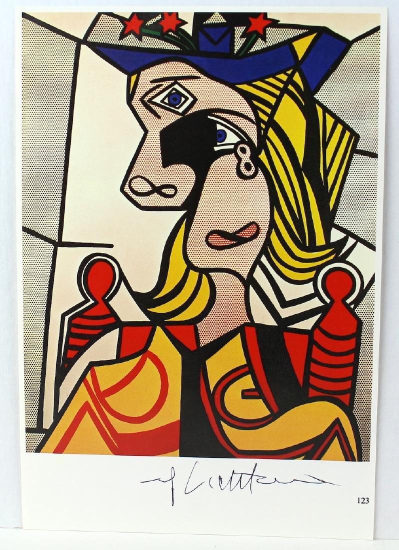 Roy Lichtenstein Homage to Picasso Signed Print - 2