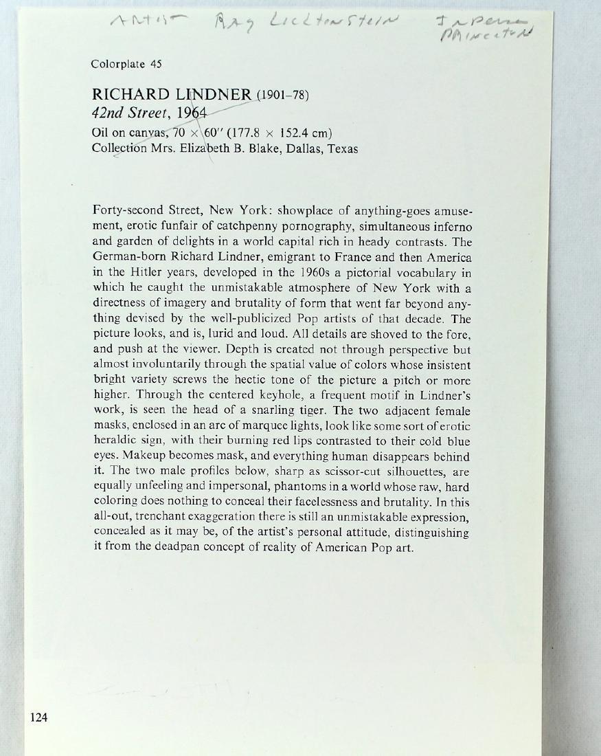 Roy Lichtenstein Homage to Picasso Signed Print - 3