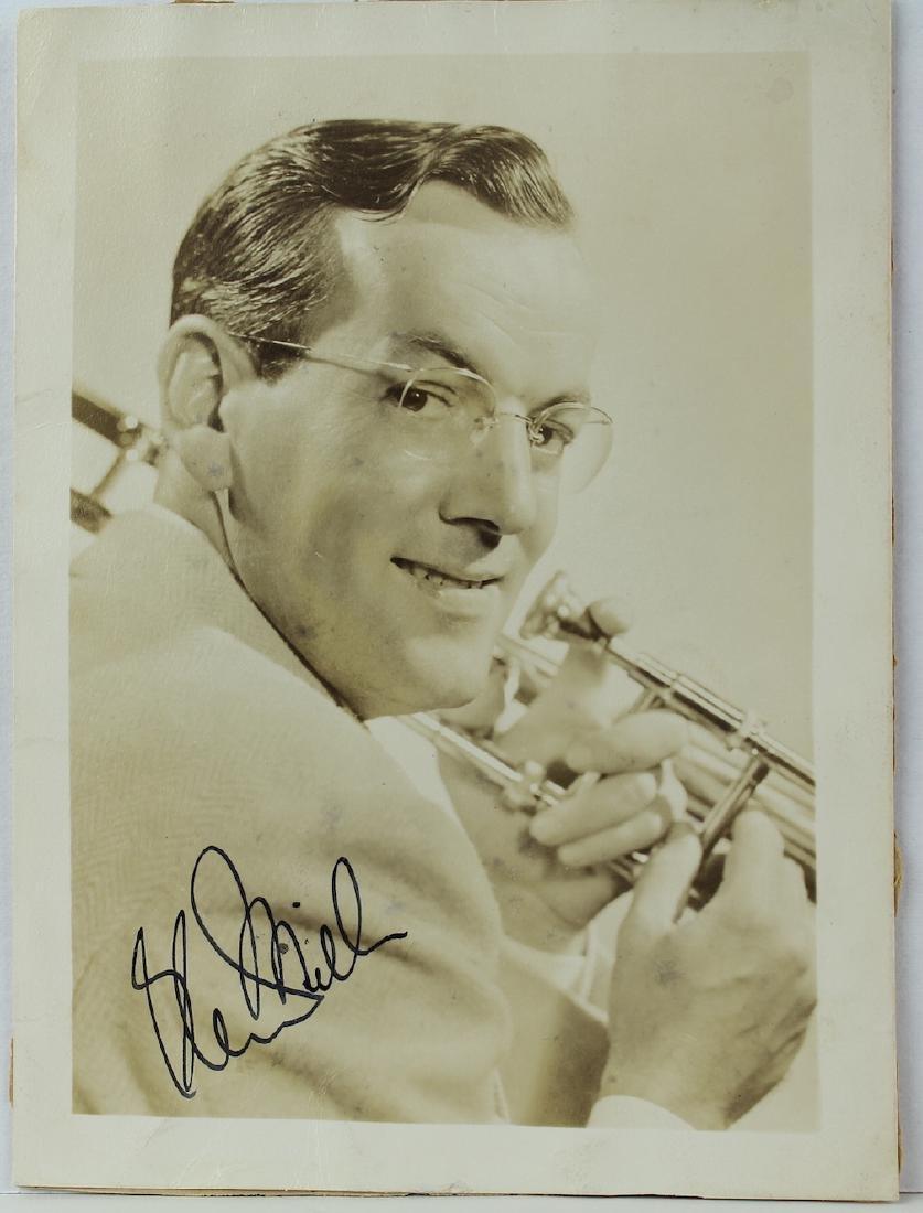 Glenn Miller Signed Photograph