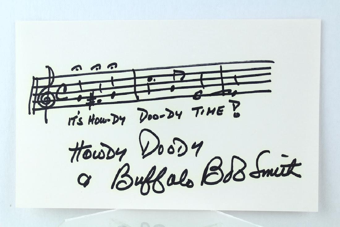 Howdy Doody Time Music Buffalo Bob Smith Signed - 2