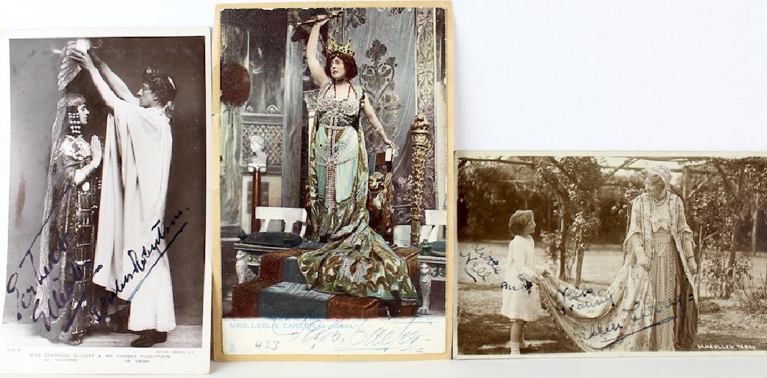 1900s Opera Signed Art Nouveau Post Cards