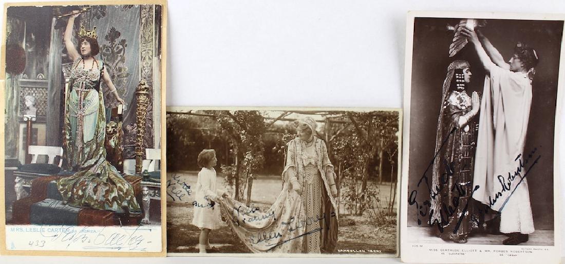 1900s Opera Signed Art Nouveau Post Cards - 2