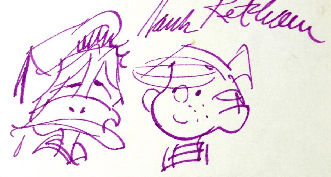 Hank Ketcham Dennis the Menace & Signature