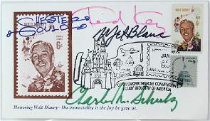 All Star Cartoonist Signed Disney First Day Cover