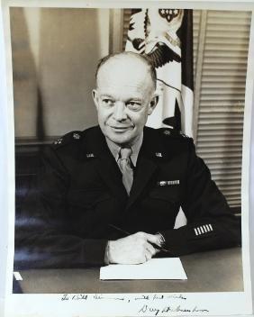 Dwight D. Eisenhower 34th President Signed Photograph