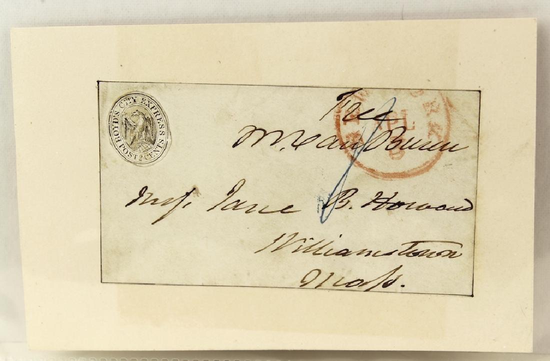 Martin Van Buren 8th President Signature