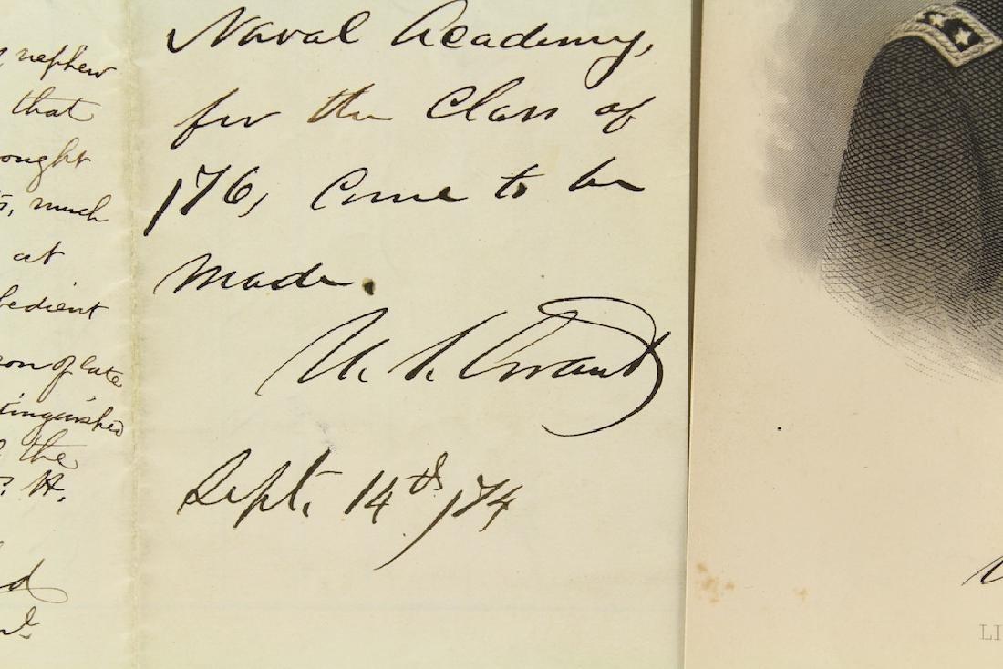 Ulysses S. Grant 18th President Letter & Signature - 2
