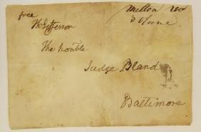 Thomas Jefferson 3rd President Signature