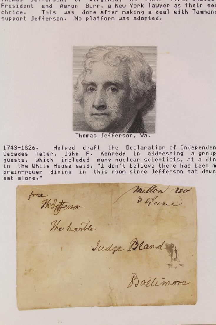 Thomas Jefferson 3rd President Signature - 2