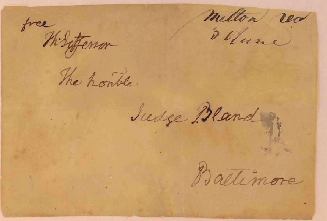 Thomas Jefferson 3rd President Signature - 3