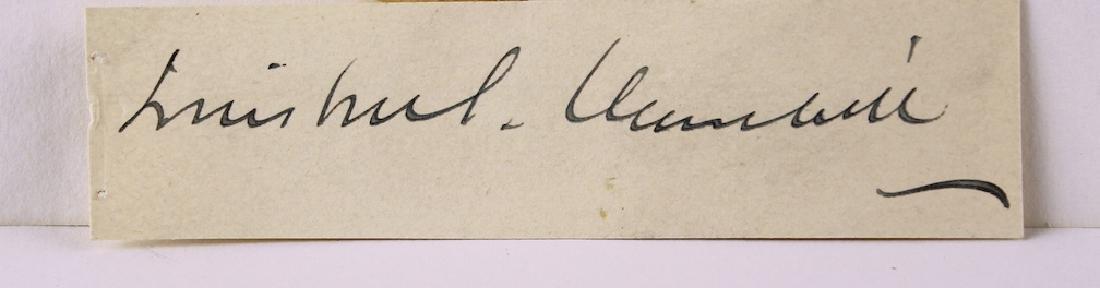 Winston Churchill Signature - 2