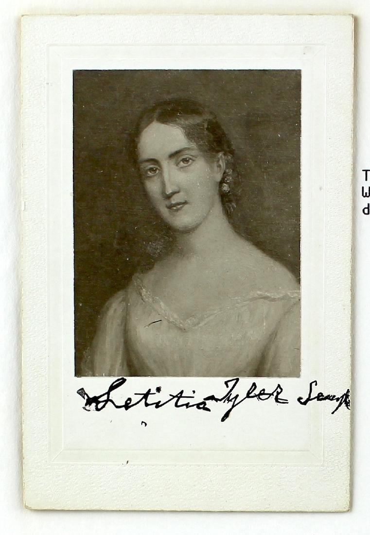Letitia Tyler-Semple President's Daughter Signature - 2