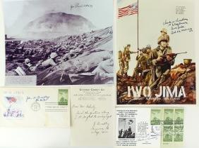 WWII Iwo Jima Flag Raiser Soldier Signatures