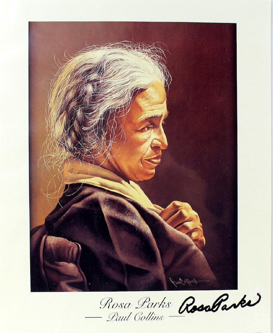 Rosa Parks Signed Litho