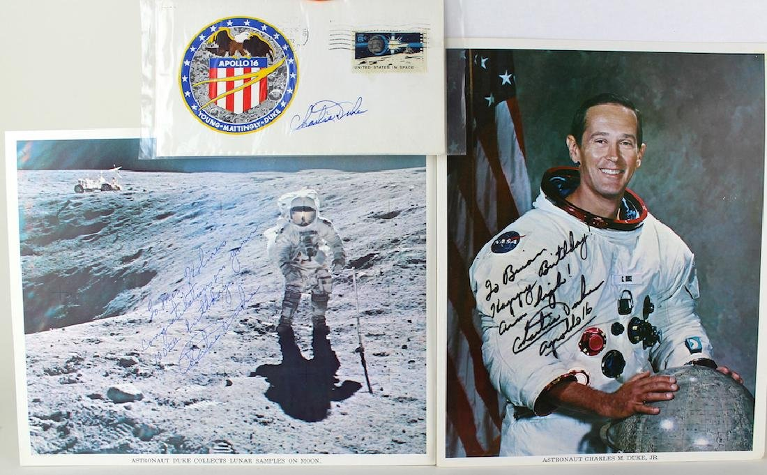 Charlie Duke Apollo 16 Youngest to Walk on Moon