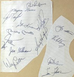 1968 Sports Signature Koufax, Mantle, Yogi Berra, Mays&