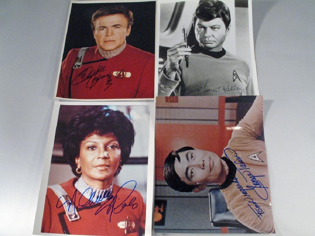 Star Trek Autographs William Shatner Lot