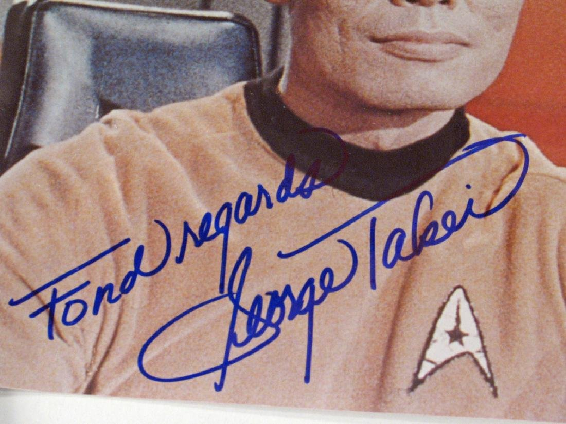 Star Trek Autographs William Shatner Lot - 3