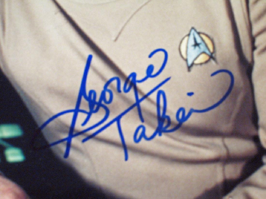 Star Trek Autograph Lot Walter Koenig, DeForest - 5