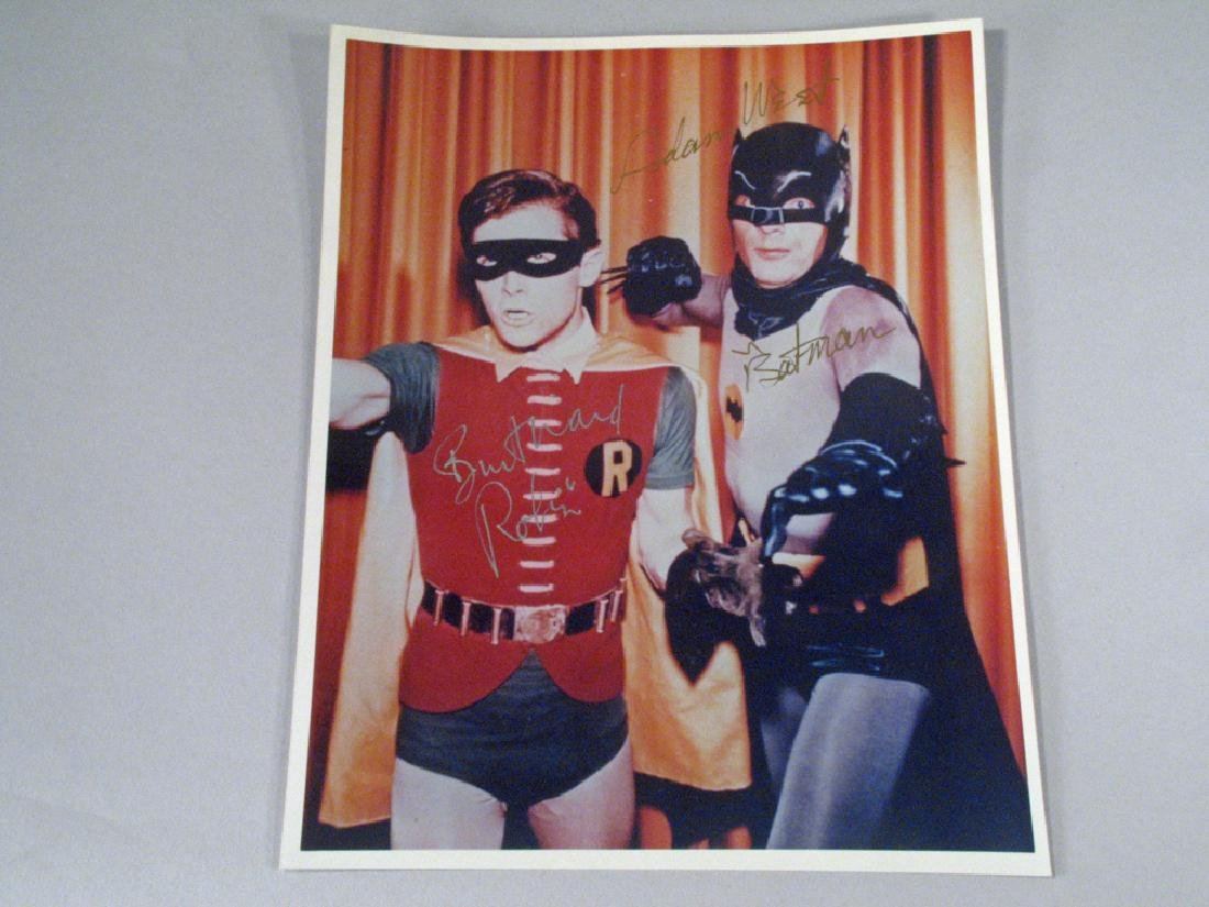 Batman and Robin, Adam West, Burt Ward Autographs
