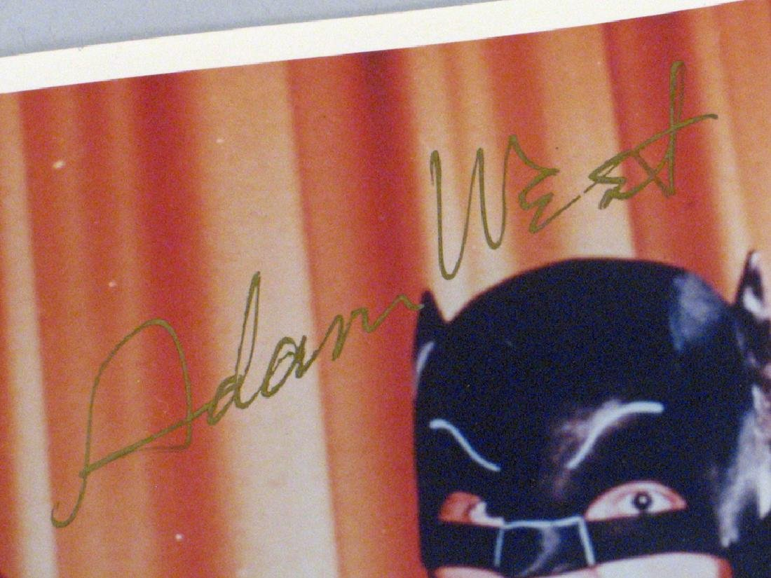 Batman and Robin, Adam West, Burt Ward Autographs - 3