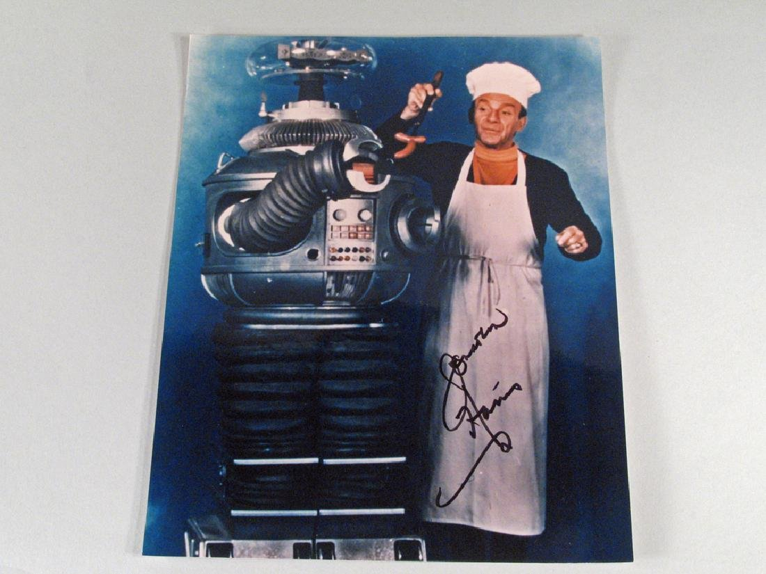 Lost In Space Robot w/ Jonathan Harris Autograph