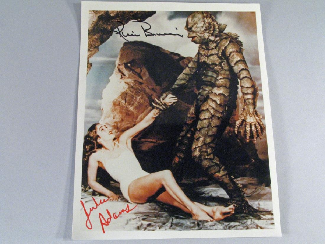 Creature From Black Lagoon Autograph , Ricou Browning,