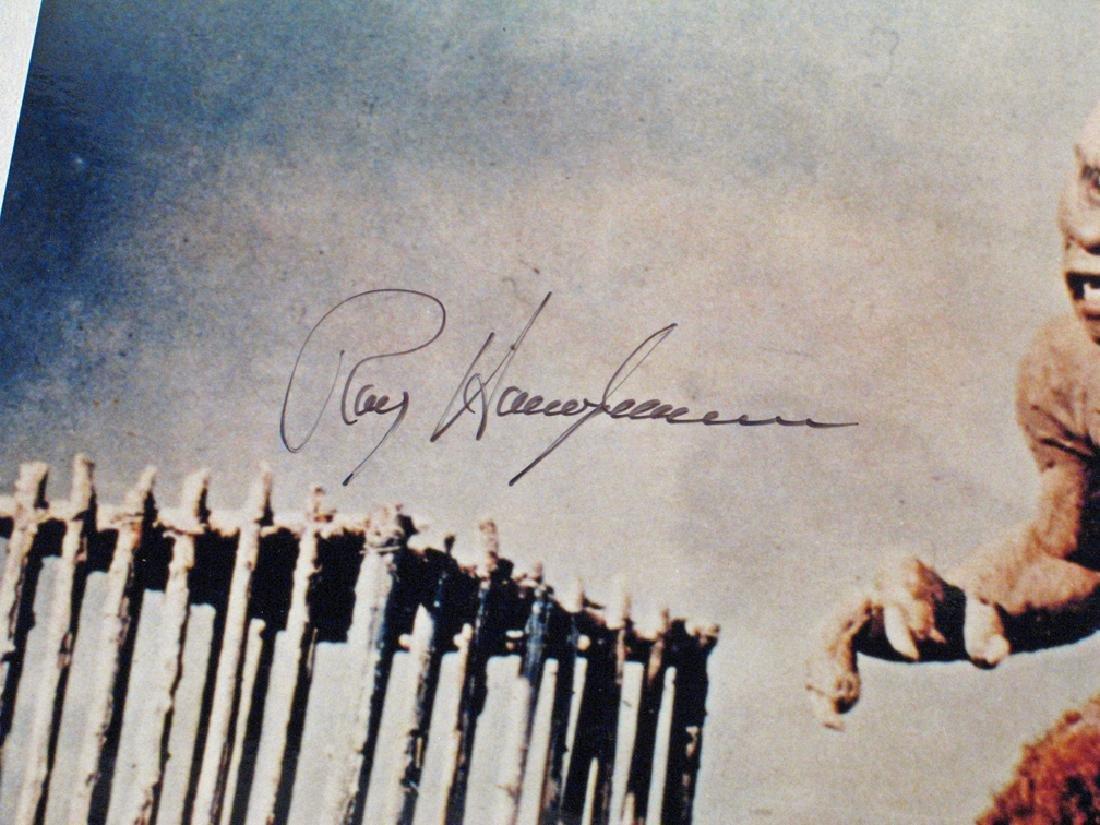 7th Voyage Sinbad Ray Harryhaussen Autograph - 2