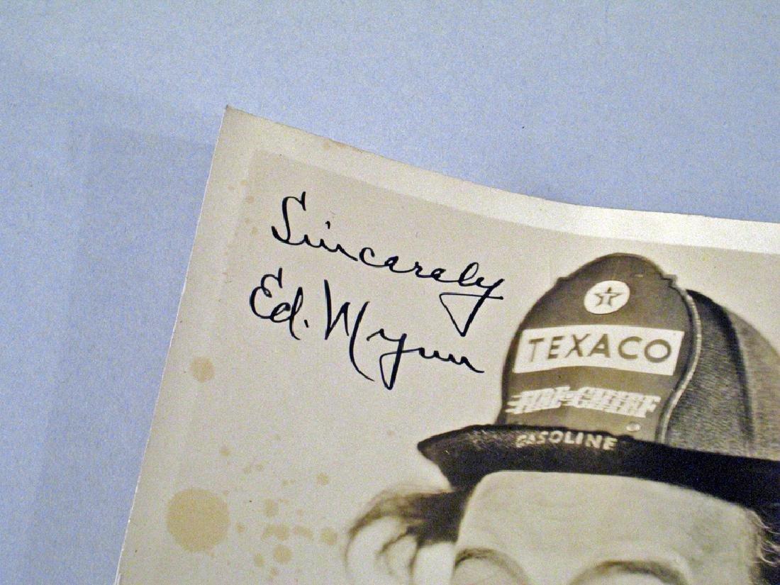 Ed Wynn Early Autograph Orig Studio Photo