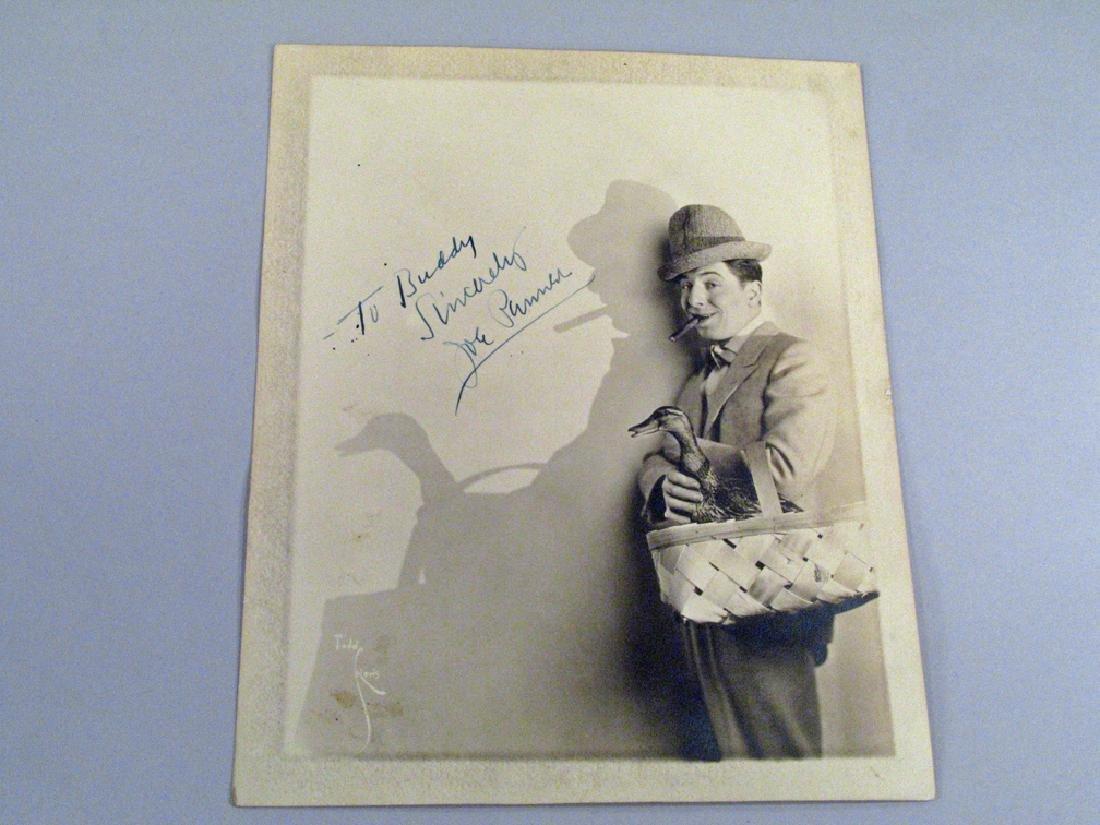 Joe Penner Autograph original  Still Photo