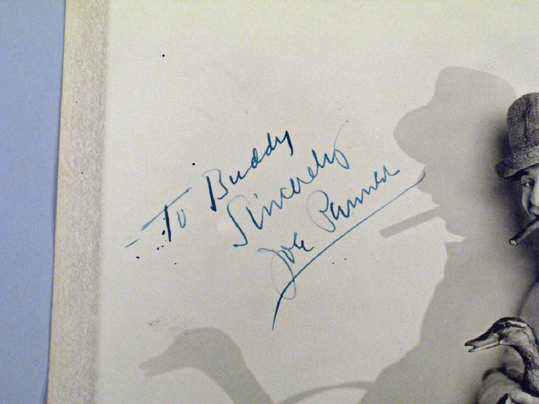 Joe Penner Autograph original  Still Photo - 2
