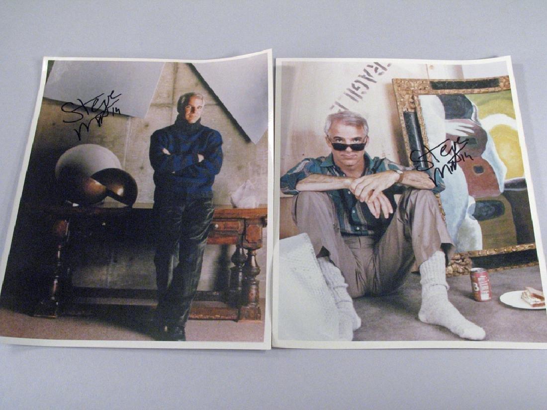 Steve Martin Color 8 x 10 Glossy's Autograph Lot