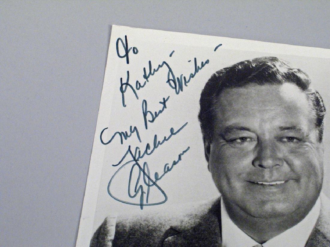 Jackie Gleason Personalized Note Glossy Autograph