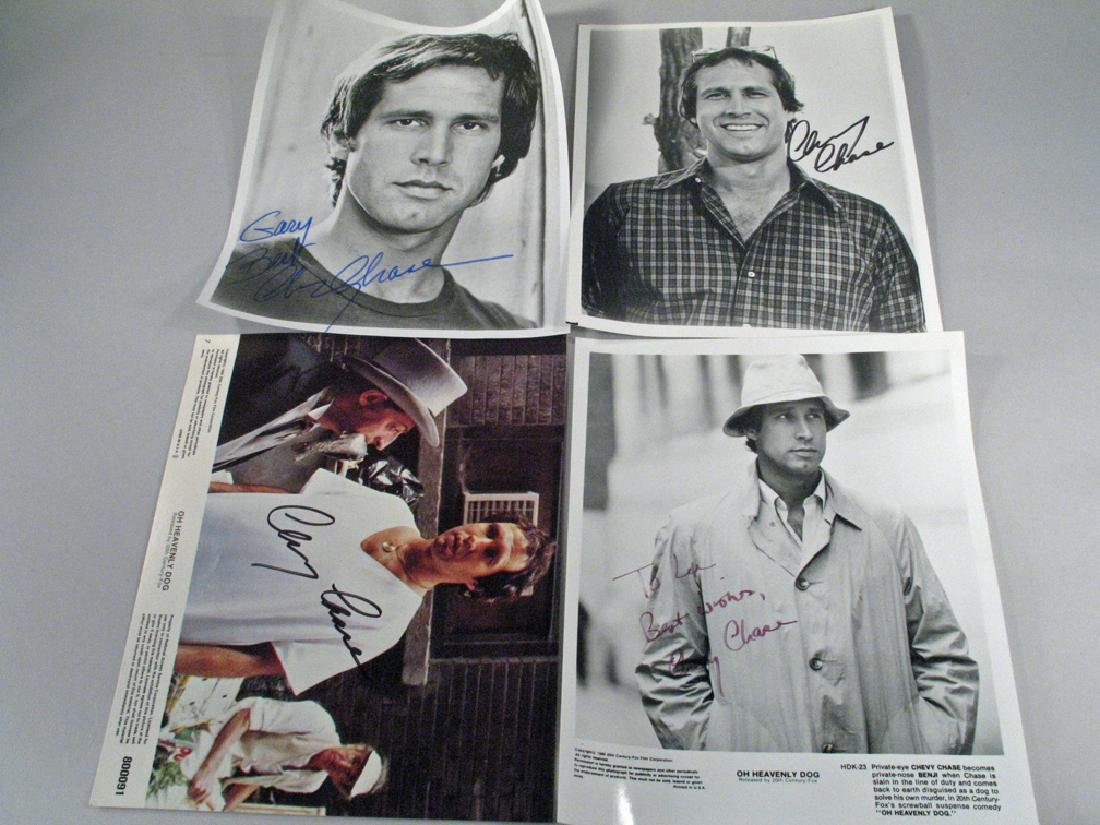 Chevy Chase Lot Autographs